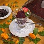Wild Huckleberry Sorbet