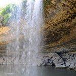 Great hike beautiful waterfall into the pool