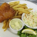 1 piece Fish and Chip. Everyone's favourite