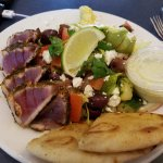 Fresh seared Ahi Tuna salad