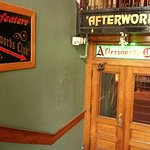 "The ""Afterwords Club"" downstairs of the restaurant. They hold live music here every Thursday eve"