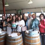 Our Easter Egg Hunt for Adults! Finding wine throughout vineyards