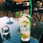 Refreshing Mojitos at the Shisha Bar