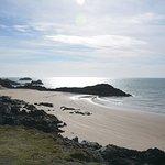 Malltraeth beach from Llanddwyn