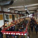 inside Granville Island Market