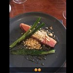 The duck dish was amazing, well cooked, well seasoned, combination of food was unreal, great tas