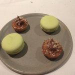 apple macaroons and hazelnut cakes