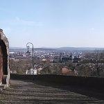 Blick über die Stadt Panorama