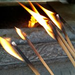 Purchase incense at the Temple for only $3 set of 3.