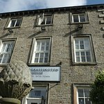Grassington House in the sunshine