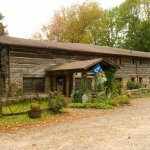 100 Year Old Log & Stone Lodge with Rooms & Great Food