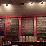 Love Muffin - wall menu