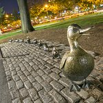 Make Way for the Ducklings Statues
