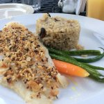 Crusted Almond Grouper