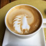 Don't miss the amazing artwork of the coffee barista at the Sankara Nairobi.