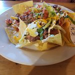 Kitchen Sink Bar-b-q Nachos with Brisket