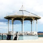 Bandstand Dun Laoghaire Pier, 2 minutes walk from the bed and breakfast.