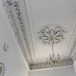 Ornate ceilings in the Ferry House Bed and Breakfast