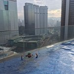 See KL while chilling in the pool