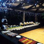 Special buffet for the Workshop participants