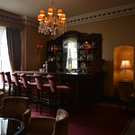 Cosy bar at The Glenlo Abbey Hotel