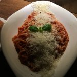 Fettucine Napoli, delicious