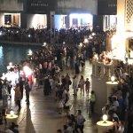 view of the bridge to the Dubai Mall