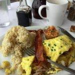 Breakfast at Island Lava Java, Kailua-Kona