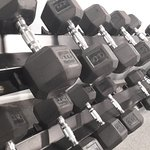 Free weights in the Fitness Centre