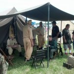 WW II German Africa Corps recreators at Wings Over the Beash in May 2016