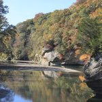 Fall view of Sugar Creek
