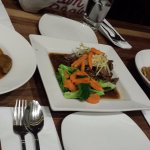 Siamese beef, Masaman Curry & Pad See Eaw