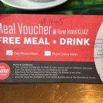 Free snack voucher with Day use room