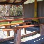 Picnic area at the dam hut