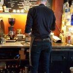 tall bartender