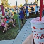Famous raspberry shakes