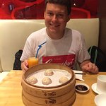 Happiness at Din Tai Fung!