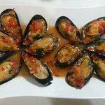 Mussols in sea sauce