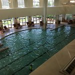 There are both indoor and outdoor pools