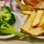 French Fries & Broccoli