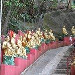 monté vers le temple