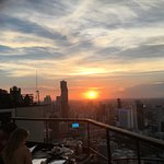 Sunset View from Moon bar