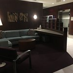 Separate areas good for meetings or lounging around the lobby