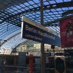 Berlin Hauptbahnhof Foto
