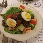 Bangus belly salad - a joyful explosion of flavors and textures!