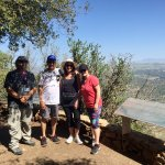 Scenic viewpoint on a hike on Mount Meron.