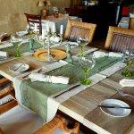 Table ready for dinner