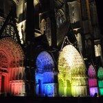 les portails de la façade de la cathédrale