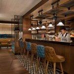 The bar at Grappa