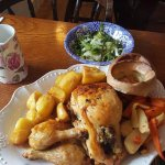 Our corn fed chicken Sunday roast